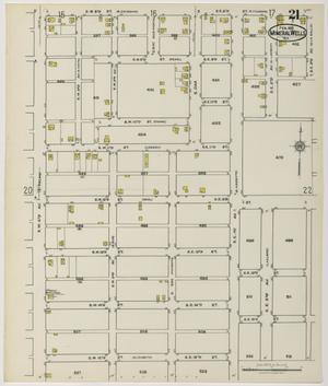 Primary view of object titled 'Mineral Wells 1921 Sheet 21'.