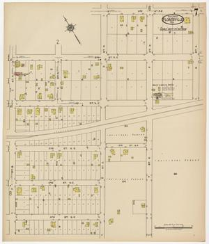 Primary view of object titled 'Floresville 1922 Sheet 7'.