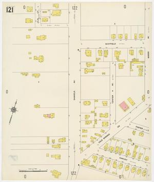 Primary view of object titled 'Fort Worth 1911 Sheet 121'.
