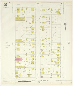 Primary view of object titled 'Abilene 1929 Sheet 39'.