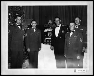 Primary view of object titled 'Officers at Banquet'.