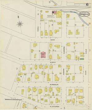 Primary view of object titled 'Waxahachie 1904 Sheet 6'.