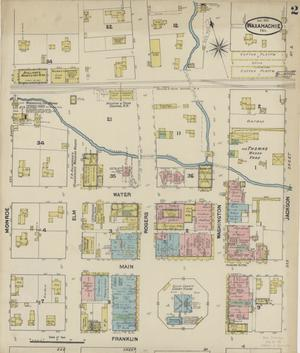 Primary view of object titled 'Waxahachie 1890 Sheet 2'.