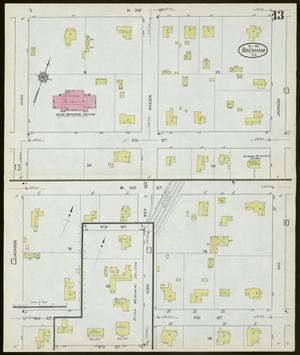 Primary view of object titled 'Brenham 1912 Sheet 13'.