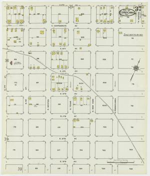 Primary view of object titled 'Corsicana 1921 Sheet 37'.