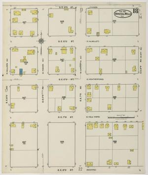 Primary view of object titled 'Mineral Wells 1921 Sheet 18'.