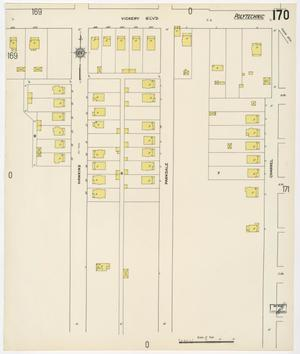 Primary view of object titled 'Fort Worth 1911 Sheet 170'.