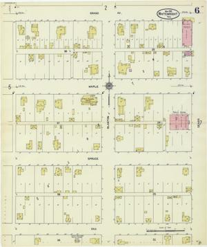 Primary view of object titled 'Whitewright 1912 Sheet 6'.