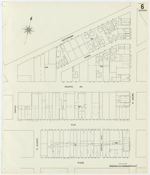Primary view of object titled 'Dallas 1905 Sheet 6 (Skeleton Map)'.