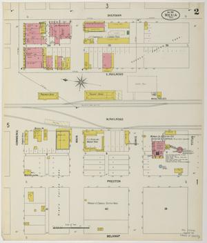 Primary view of object titled 'Mexia 1901 Sheet 2'.