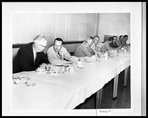Primary view of object titled 'Men at Luncheon'.
