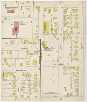 Primary view of object titled 'Fort Worth 1898 Sheet 15'.