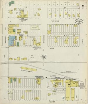Primary view of object titled 'Weimar 1901 Sheet 2'.