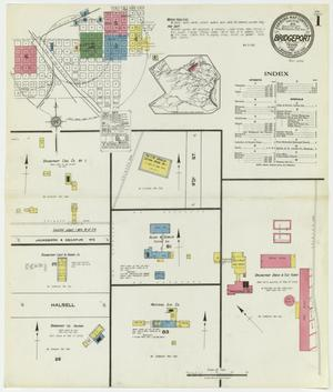Primary view of object titled 'Bridgeport 1921 Sheet 1'.