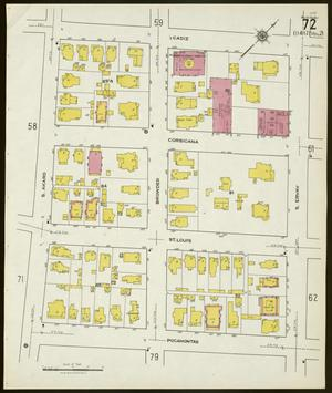Primary view of object titled 'Dallas 1921 Sheet 72'.