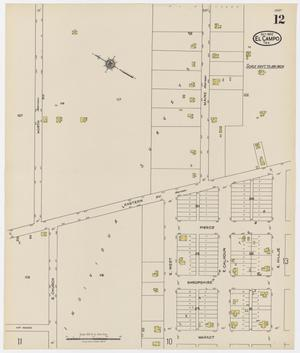 Primary view of object titled 'El Campo 1922 Sheet 12'.