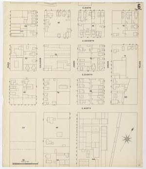Primary view of object titled 'Fort Worth 1898 Sheet 6 (Skeleton)'.