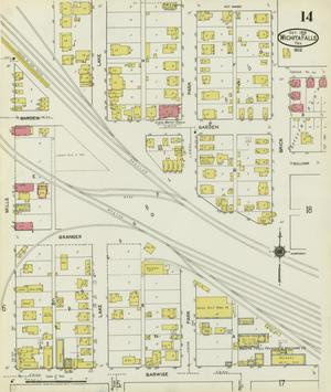 Primary view of object titled 'Wichita Falls 1919 Sheet 14'.