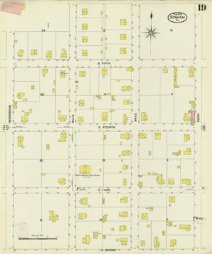 Primary view of object titled 'Bonham 1909 Sheet 19'.