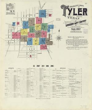 Primary view of object titled 'Tyler 1907 Sheet 1'.