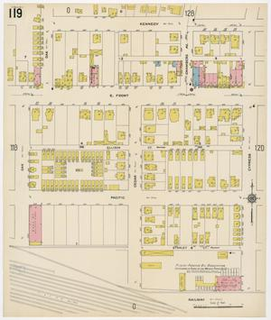 Primary view of Fort Worth 1911 Sheet 119