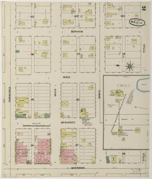Primary view of object titled 'Mexia 1891 Sheet 2'.