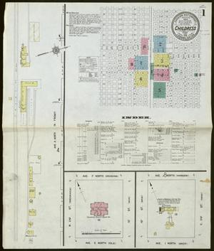 Primary view of object titled 'Childress 1912 Sheet 1'.