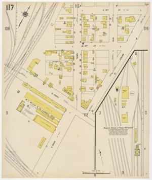 Primary view of object titled 'Fort Worth 1911 Sheet 117'.