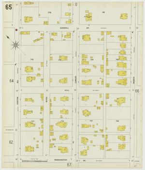 Primary view of object titled 'Dallas 1899 Sheet 65'.
