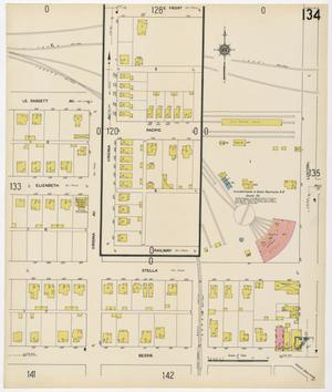 Primary view of object titled 'Fort Worth 1911 Sheet 134'.