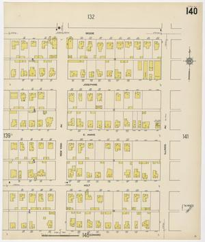 Primary view of object titled 'Fort Worth 1911 Sheet 140'.