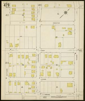 Primary view of object titled 'Dallas 1922 Sheet 479'.