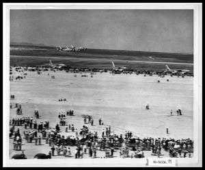 Primary view of object titled 'Air Show at Dyess Air Force Base'.