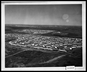 Primary view of object titled 'Aerial View of Airbase'.