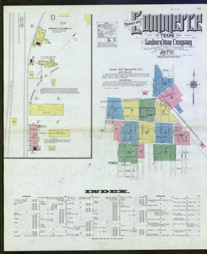 Primary view of object titled 'Commerce 1911 Sheet 1'.