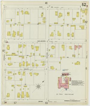 Primary view of object titled 'Dallas 1899 Sheet 52'.