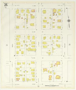 Primary view of object titled 'Abilene 1929 Sheet 25'.