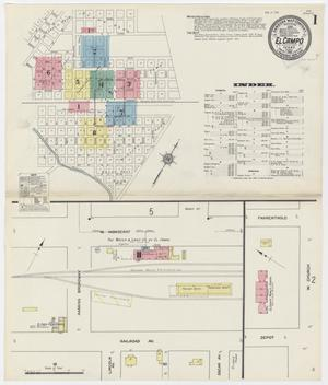 Primary view of object titled 'El Campo 1912 Sheet 1'.