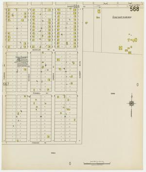 Primary view of object titled 'Dallas 1922 Sheet 568'.