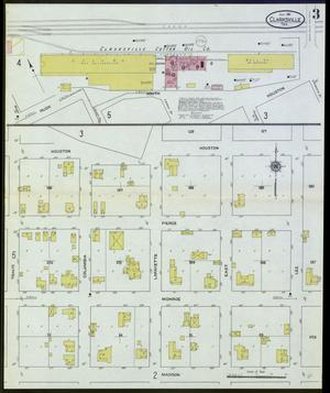 Primary view of object titled 'Clarksville 1911 Sheet 3'.