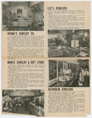 [Jewelers' Article, The Port Arthuran, April 1953]