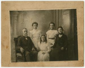 Primary view of object titled '[Photograph of the Wilson Family]'.