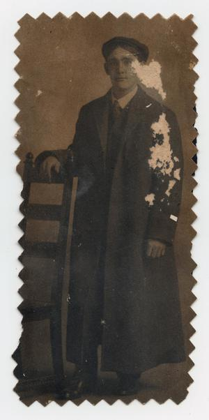 Primary view of object titled '[Portrait of Edgar Sutherlin]'.