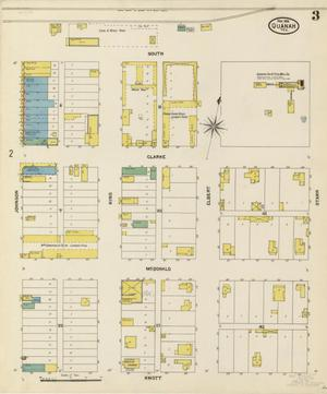 Primary view of object titled 'Quanah 1904 Sheet 3'.