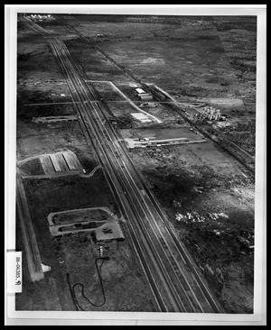 Primary view of object titled 'Aerial View of Highway'.
