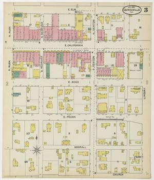 Primary view of Gainesville 1892 Sheet 3
