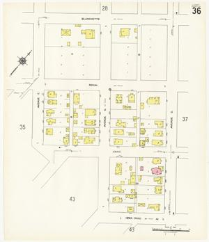 Primary view of object titled 'Beaumont 1941 Sheet 36'.