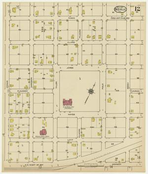 Primary view of object titled 'Beeville 1922 Sheet 12'.