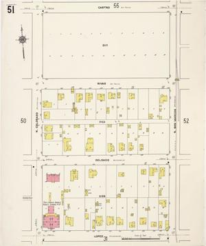 Primary view of object titled 'San Antonio 1911 Vol 1 Sheet 51'.