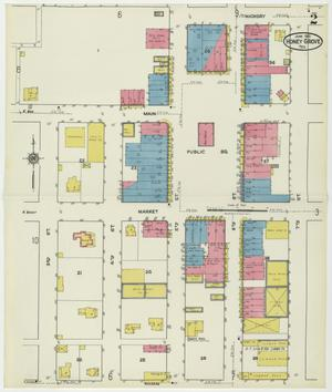 Primary view of object titled 'Honey Grove 1921 Sheet 2'.